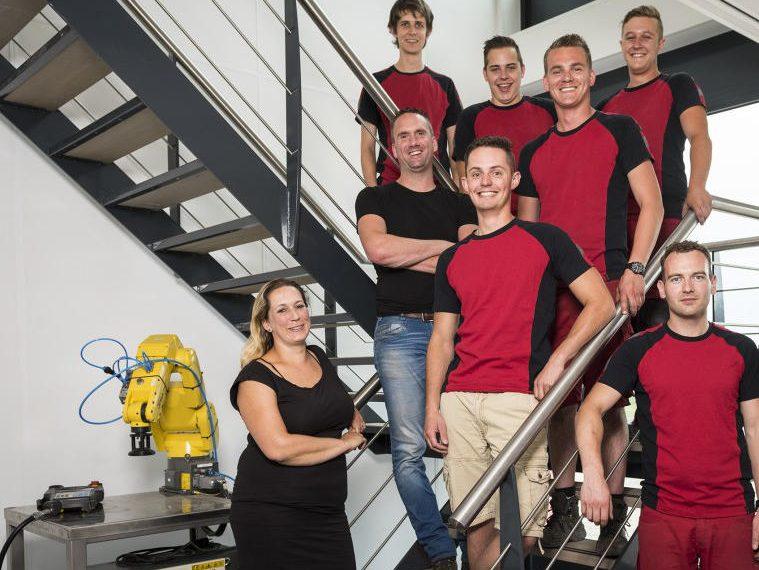 Het team van KV Techniek