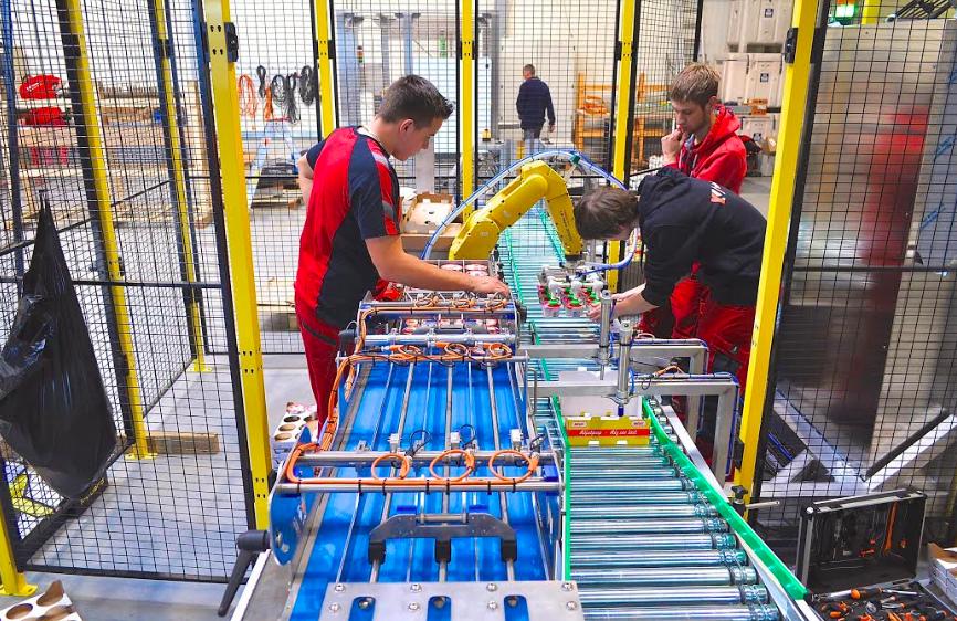Robotisering potjeslijn